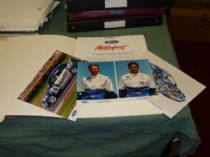FORD MONDEO BTCC Press Kit 1993 inc. 3 colour photos.